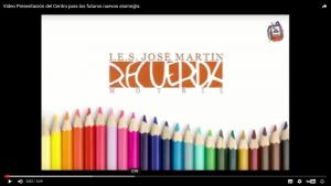 Video Presentacion del Centro para los futuros nuevos alumn@s.