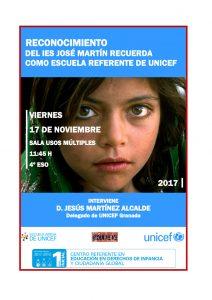 RECONOCIMIENTO UNICEF